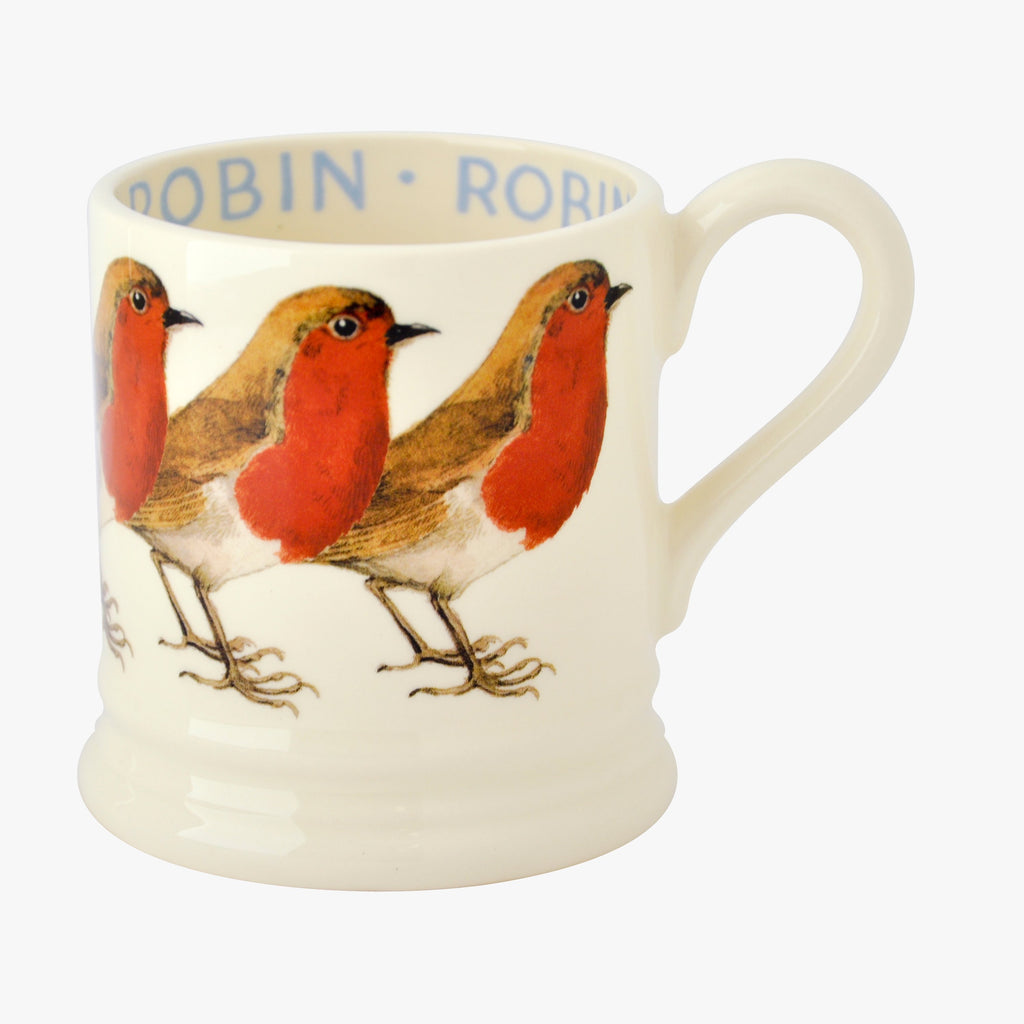 Seconds Birds Robin 1/2 Pint Mug