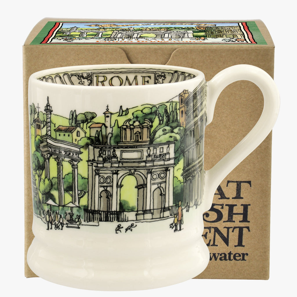 Cities Of Dreams Rome 1/2 Pint Mug Boxed
