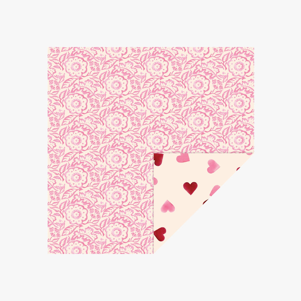 Pink Wallpaper Paper Lunch Napkins
