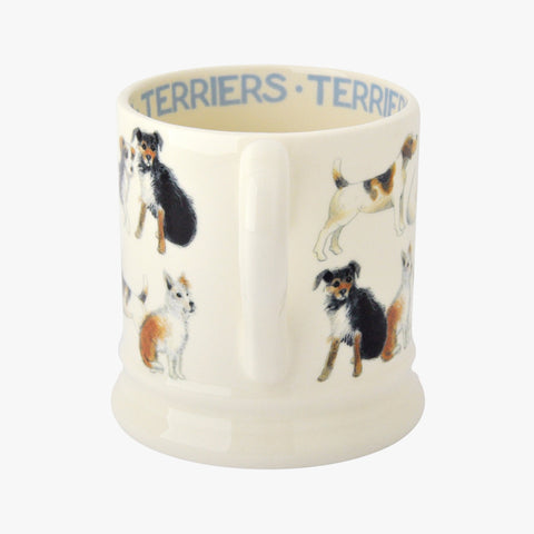 Terrier All Over 1/2 Pint Mug