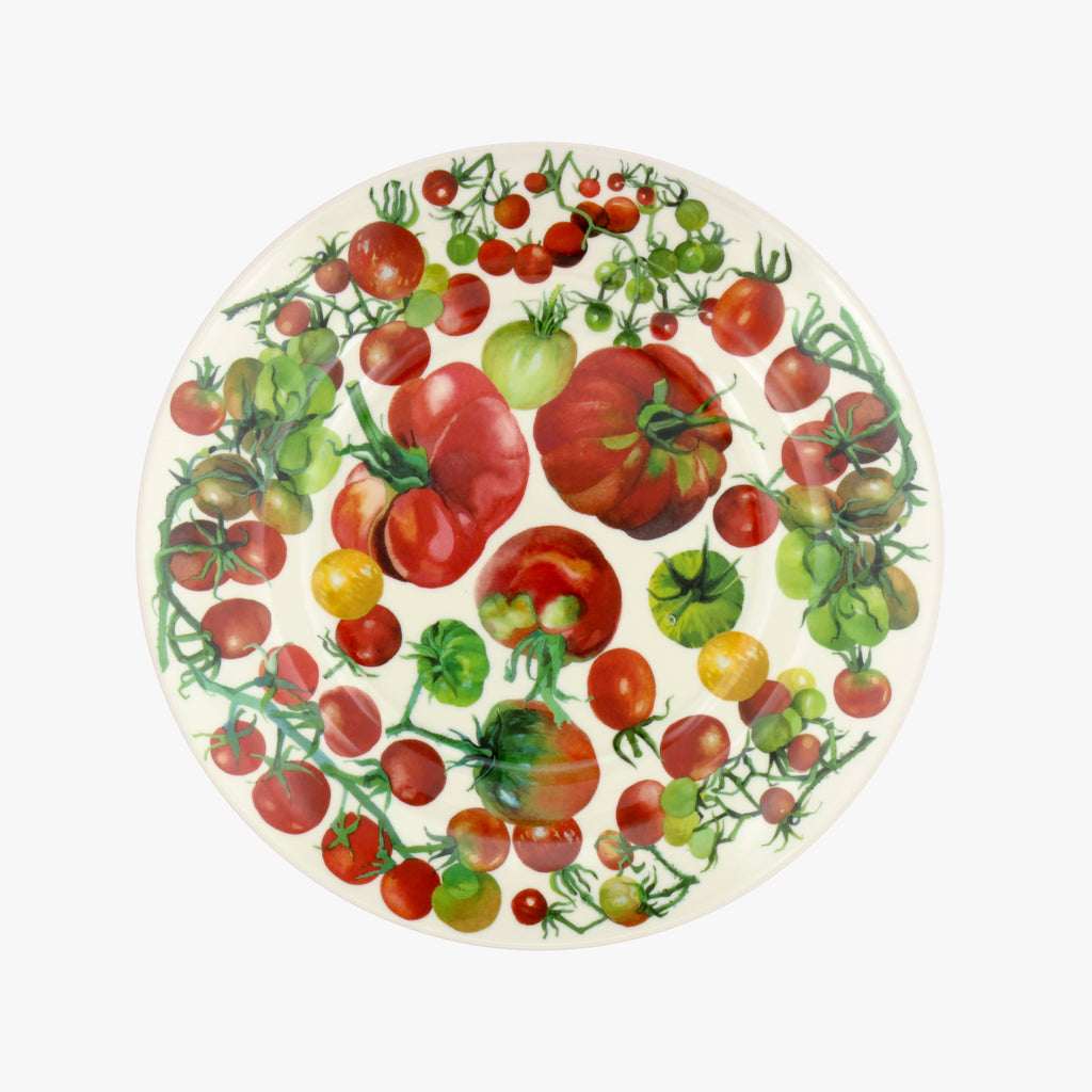 Vegetable Garden Melamine Plate