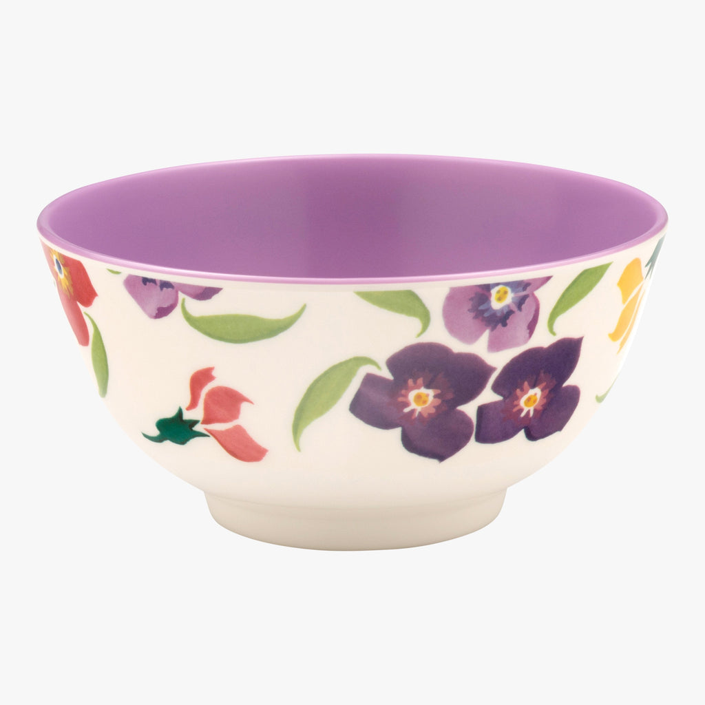 Wallflower Melamine Bowl