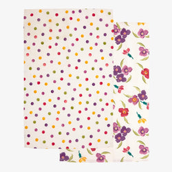 Wallflower Set of 2 Tea Towels