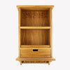 Black Toast Wooden Wall Cabinet