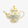 Personalised Buttercup 4 Mug Teapot