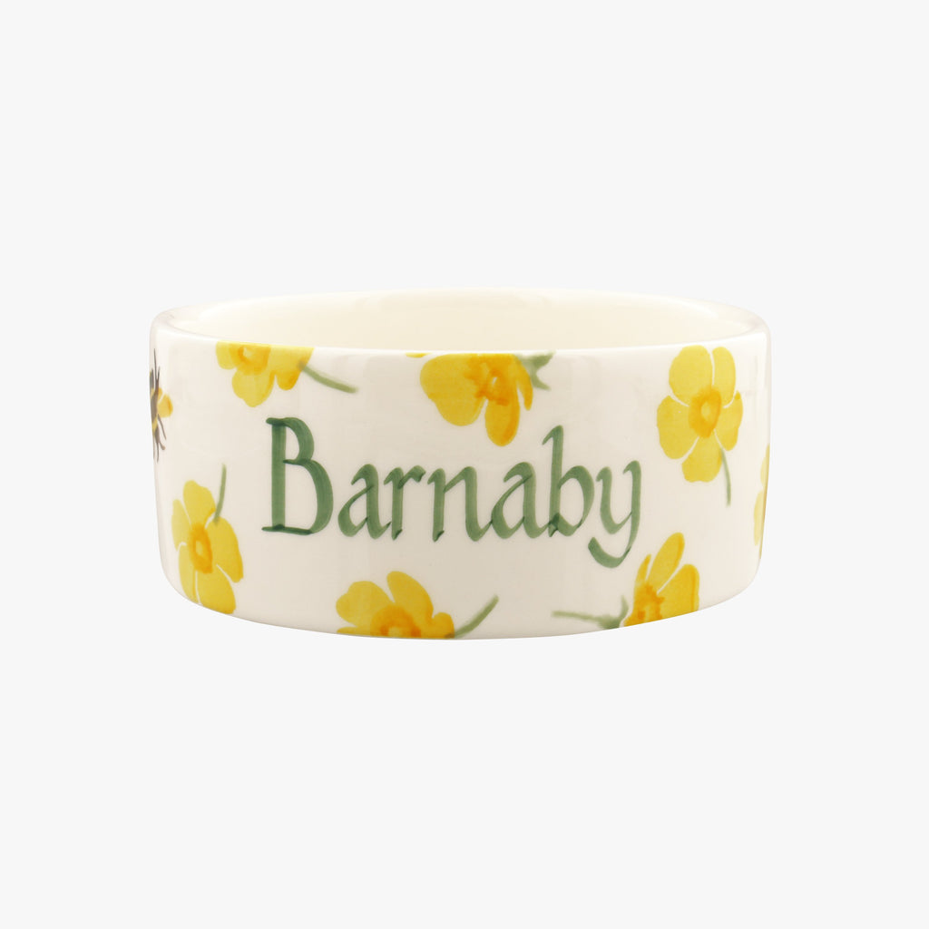 Personalised Buttercup Small Pet Bowl