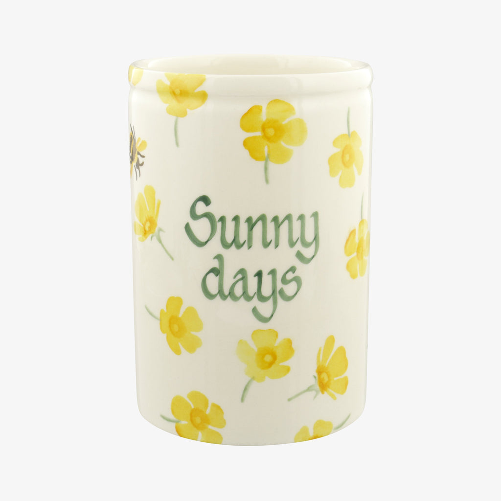 Personalised Buttercup Medium Vase