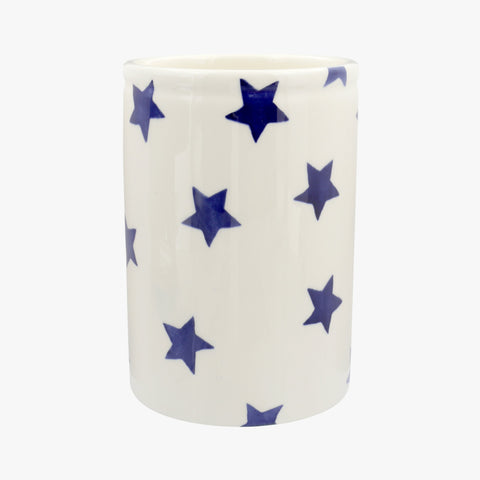 Personalised Blue Star Medium Vase