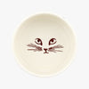 Personalised Polka Pussycat Large Pet Bowl