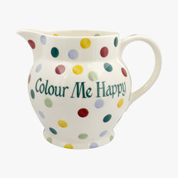 Personalised Polka Dot 3 Pint Jug