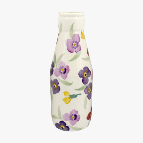Personalised Wallflower Large Milk Bottle