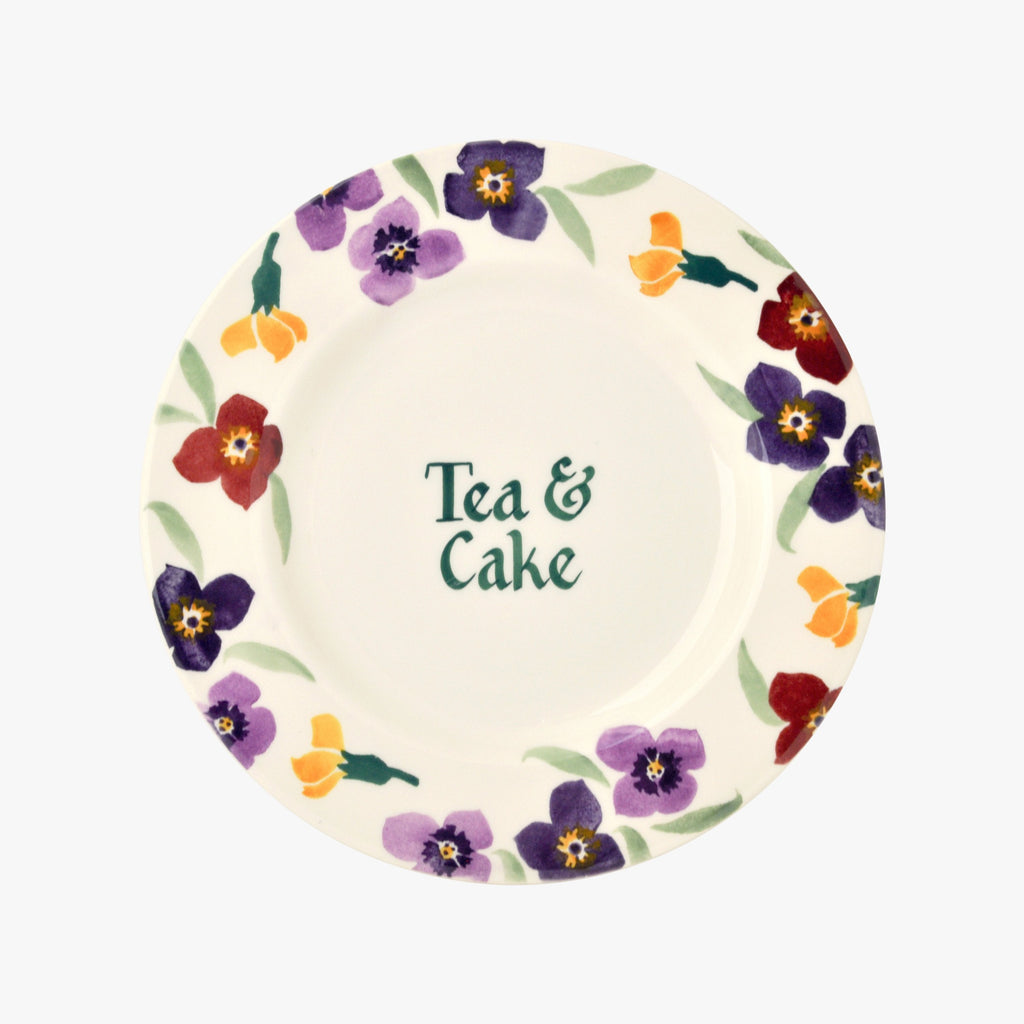 "Personalised Wallflower 8 1/2"" Plate"
