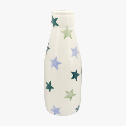 Personalised Winter Star Large Milk Bottle