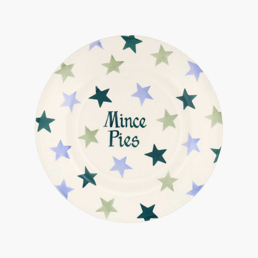 "Personalised Winter Star 8 1/2"" Plate"