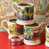 Dream Homes Cottage In The Woods 1/2 Pint Mug
