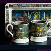 Cities Of Dreams London At Night Medium Oblong Plate