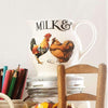 Seconds Rise & Shine Milk & Cream 1/2 Pint Jug