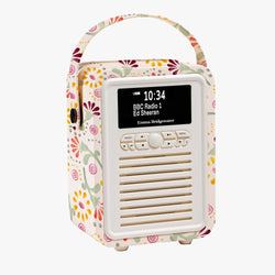 Buttons Mini Bluetooth Retro Radio