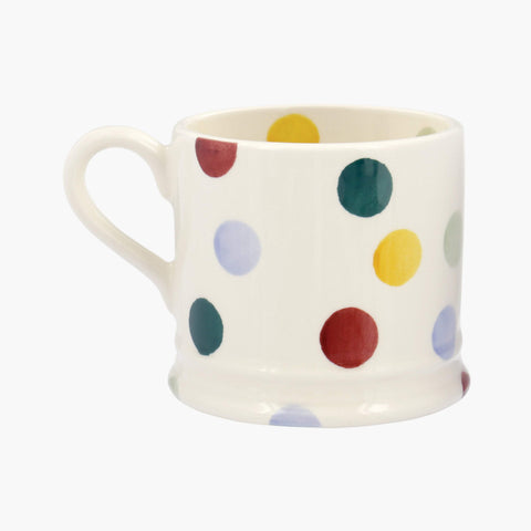 Personalised Polka Dot Small Mug
