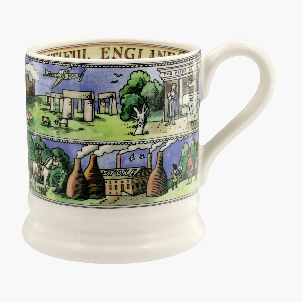 Seconds Landscapes Of Dreams Beautiful England 1/2 Pint Mug