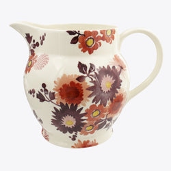 Bright Dahlias 6 Pint Jug