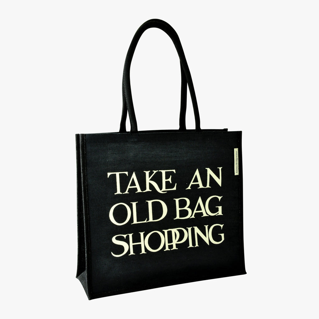 Black Toast Old Bag Jute Bag