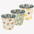 Buttercup Scattered Set of 3 Round Tin Herb Pots