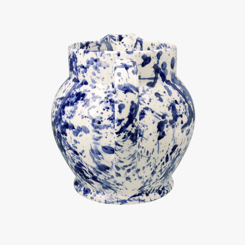 Blue Splatter 3 Pint Jug