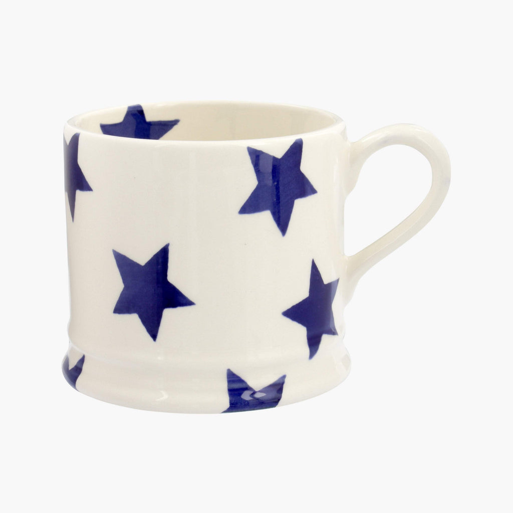 Blue Star Small Mug