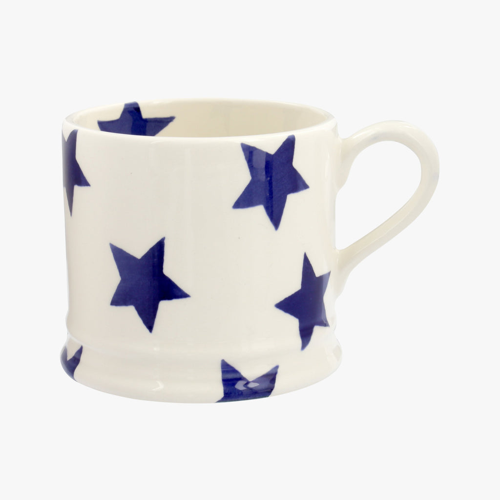 Seconds Blue Star Small Mug