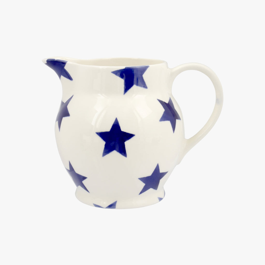 Seconds Blue Star 1/2 Pint Jug