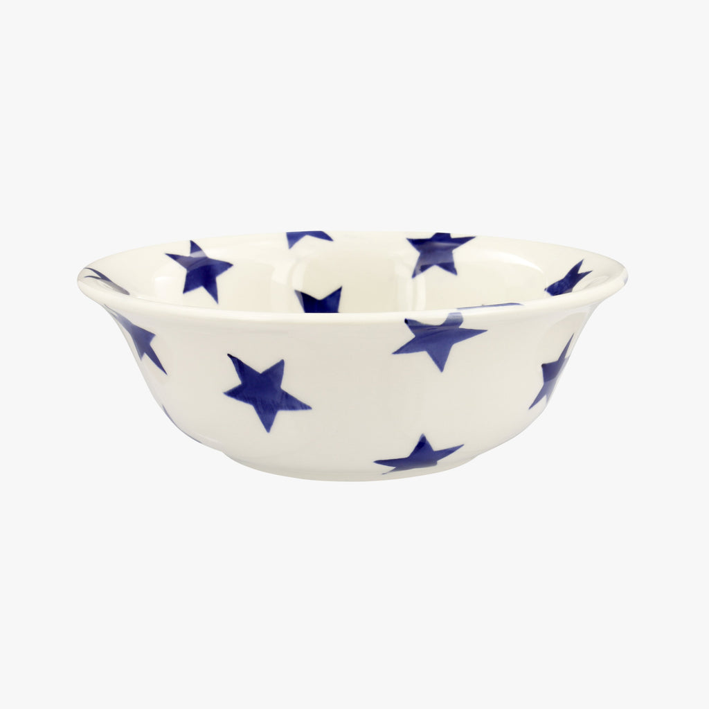 Seconds Blue Star Cereal Bowl