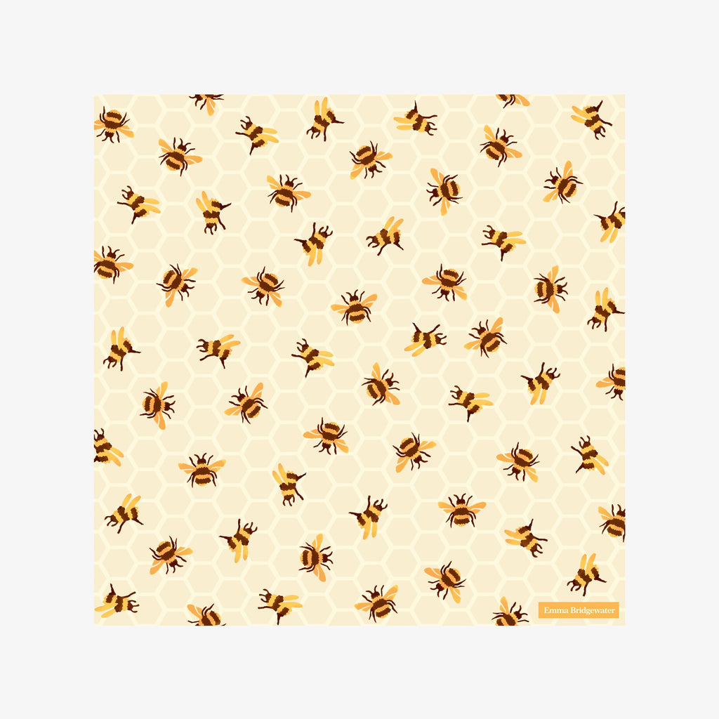 Bumblebee Honeycomb Lunch Napkins