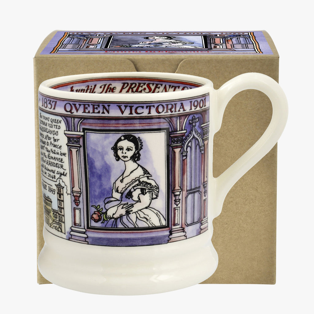 Queen Victoria 1/2 Pint Mug Boxed