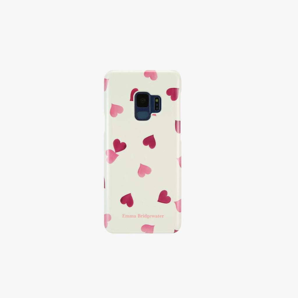 Pink Hearts Phone Case for Samsung S9