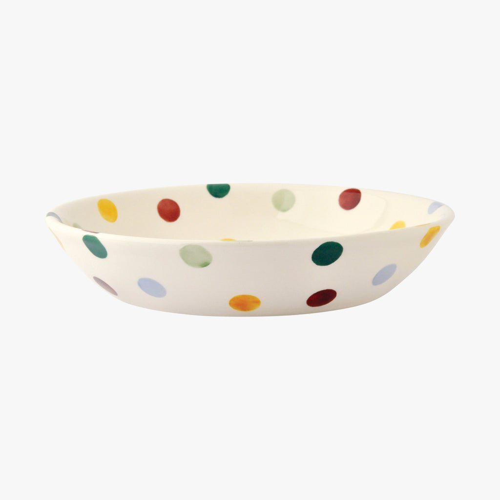 Polka Dot Small Pasta Bowl
