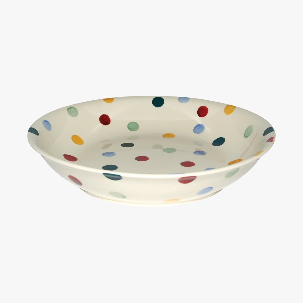 Seconds Polka Dot Medium Pasta Bowl
