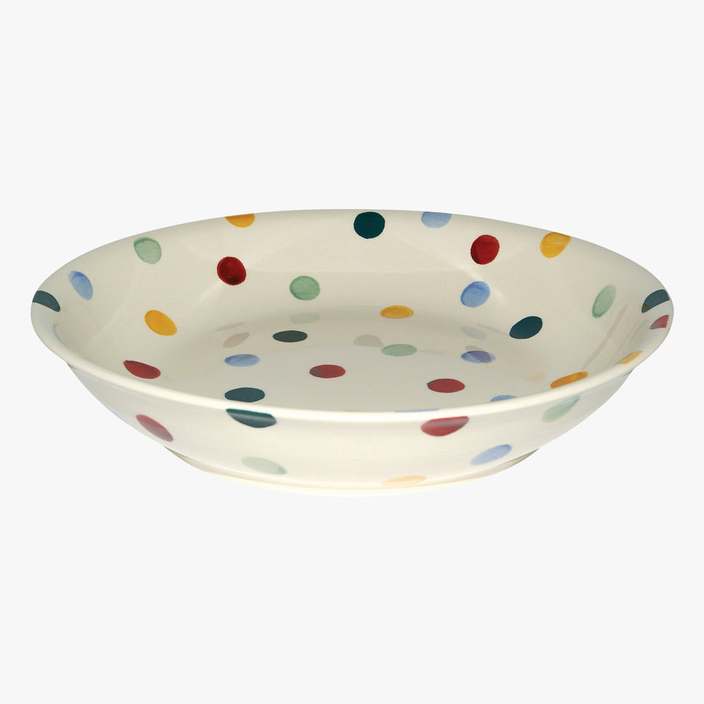 Polka Dot Medium Pasta Bowl