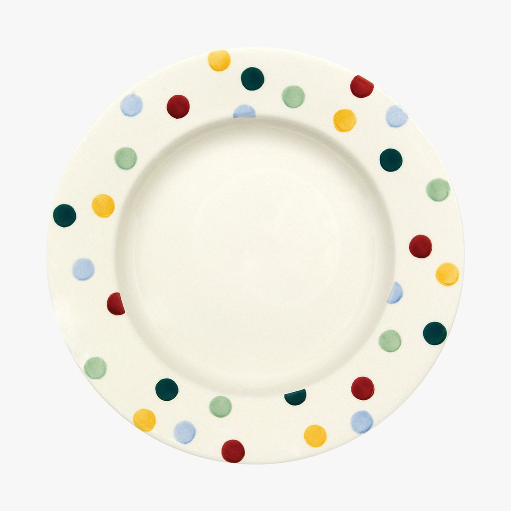 "Seconds Polka Dot 10 1/2"" Plate"