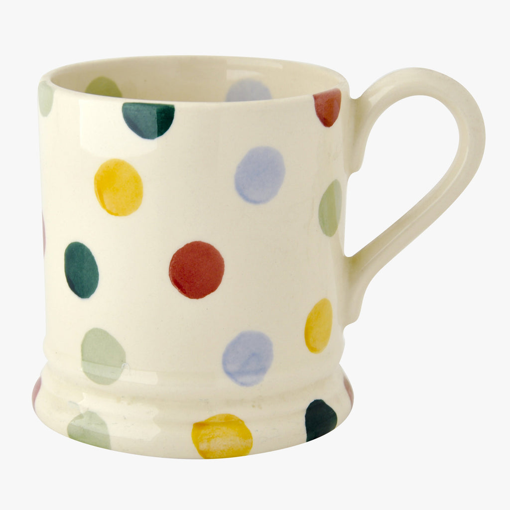 Seconds Polka Dot 1/2 Pint Mug