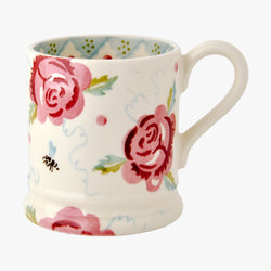 Rose & Bee 1/2 Pint Mug