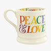 Rainbow Toast Love is Love 1/2 Pint Mug