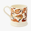 Shellfish Shrimps 1/2 Pint Mug