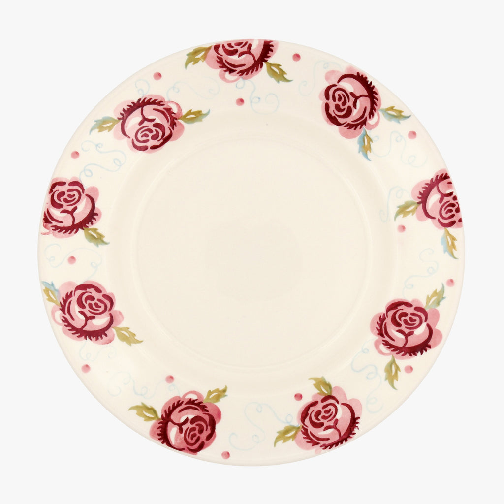 "Scattered Rose 10 1/2"" Plate"
