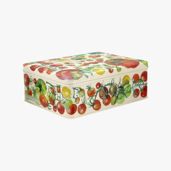 Vegetable Garden Medium Shallow Tin