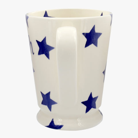 Personalised Blue Star Cocoa Mug