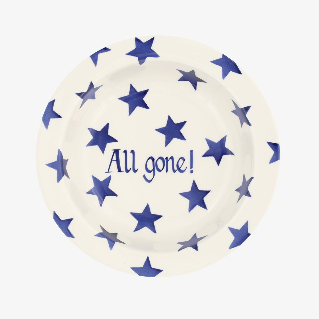 Personalised Blue Star Baby Bowl