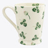 Personalised Clover Flower Cocoa Mug