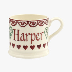 Personalised Christmas Sampler Small Mug