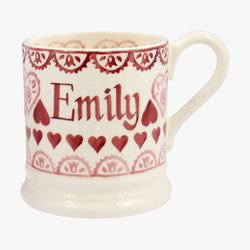 Personalised Sampler 1/2 Pint Mug